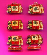 1984 OLYMPIC PIN MCDONALDS PIN - BADGES RARE PROTOTYPES PICK 1-2-3 ADD TO CART