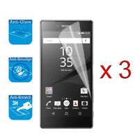 For Sony Xperia Z5 Screen Protector Cover Guard LCD Film Foil x 3