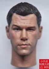 1/6 Head Sculpt Matt Damon Untitled Jason Bourne 5 Sequel fit HT enterbay body