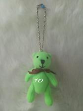 10 PCS AUTH SHYARURU PALETTE JAPAN TEDDY BEAR KEY HOLDER # 10