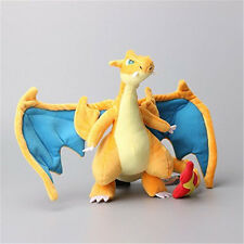 "Pokemon Center Mega Charizard Y Character Stuffed Plush 12"" Dragon Doll Toy US"
