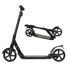 """Adult Kick Scooter Sturdy Foldable T-Style 35-39""""Adjustable Aluminum Alloy BSTY"""