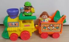 Active train toy Fisher Price two car musical train cars two people Child 3+ toy