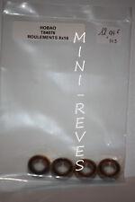 HoBao Ball Bearings 8x16x4 (4pcs) 1/8 84076