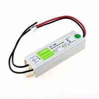 12V 10W Waterproof IP67 LED Driver Power Supply Adapter Outdoor Xmas Light Strip