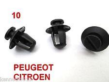 Peugeot 206  Citroen Door Moulding Trim Card Black Plastic Clip Replacement  T51