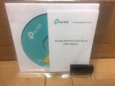 NEW--TP-Link Archer T2U AC600 Wireless Dual Band USB Adapter