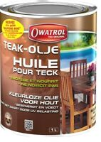 Ölfilter Teak- 1L Teak Olje Owatrol Speziell Büromöbel Garten Ne S'Waagen Nicht