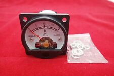 1pc Dc 0 20a Analog Ammeter Panel Amp Current Meter So45 Cutout 45mm