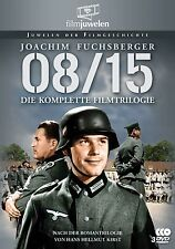 08/15 - Die komplette Film-Trilogie mit Joachim Fuchsberger - Filmjuwelen 3 DVDs