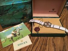 Mens rolex watch air king oyster perpetual 5500 just serviced 1971 new band