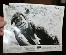 """Dracula vs. Frankenstein"" Movie Still 1971 B&W Rerelease Horror Movie"
