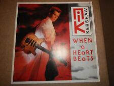 """Nik Kershaw – When A Heart Beats [German 12"""" Single]"""