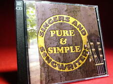 Time Life SINGERS AND SONGWRITERS  Pure & Simple  TL SSW / 24  NEUWERTIG 2 CD *