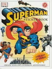 Superman Sticker Book - 2002 - DK - NEW