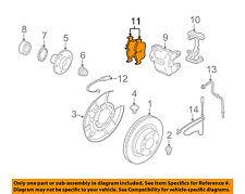 BMW OEM 07-09 328i Brake-Rear Pads 34216774692
