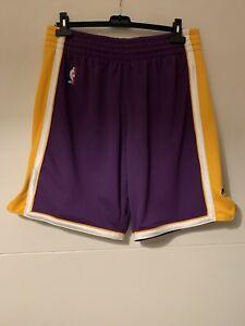 Mitchell & Ness Authentic Shorts Los Angele Lakers Gr. L - Kaum Getragen! NBA 🏀