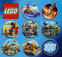 Prospekt Katalog Lego 2007 451-5816 Spielzeugkatalog Spielzeug Broschüre catalog