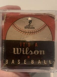 Antique Vintage 1940's 50's Wilson Baseball In Original Box