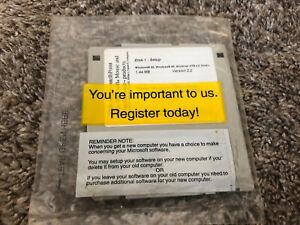 Microsoft IntelliPoint Microsoft Mouse Windows 95 98  4.0 series v 2.2 Disk 1