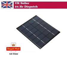 110 X 136 X 3mm módulo de panel solar para Batería de Luz 6V 2W 330mAh Raspberry Pi