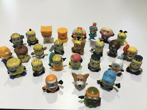DESPICABLE ME MINION MINEEZ - SQUISHY TOY FIGURES / CAKE TOPPERS - CHOOSE