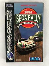 Sega Rally Championship | Sega Saturn Spiel | mit OVP und Anleitung
