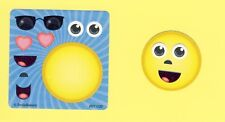 15 Make Your Own Emoji Face Stickers - Party Favors - Rewards