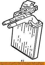 Jeep CHRYSLER OEM 02-07 Liberty-Hvac Heater Core 5066555AB