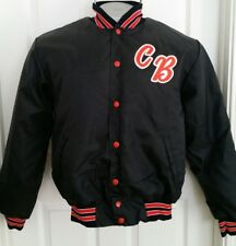 Vintage varsity baseball  Jersey Jacket by Rennoc Made in USA CB Medium M