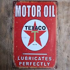 Metal Tin Sign motor oil  Decor Bar Pub Home Vintage Retro Poster Cafe