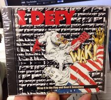 "I Defy ""Wrap It In The Flag..."" CD Debut (1997 Nix Factor) Super Rare! Sealed"