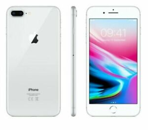 Apple iPhone 8 Plus 256GB Fully Unlocked (GSM+CDMA) AT&T T-Mobile Verizon Silver