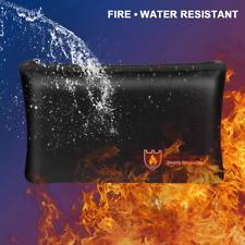 DE Feuerfeste Dokumententasche Wasserdicht Geldkassette Dokumentensafe Lagerung