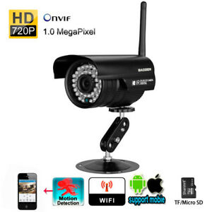 H.264 HD720P Megapixel Bullet Waterproof WiFi Camera 36pcs IR LEDs Home Security