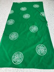 Celtic football club emblems crafts remnant material fabric sewing 90x40cm