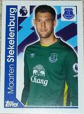 89 Maarten Stekelenburg EVERTON 2016/2017 Topps Merlin Premier League sticker