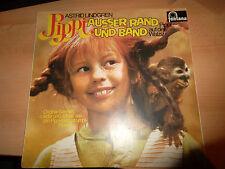 LP Pippi außer Rand und Band Astrid Lindgren Schallplatte Auf der Walze Fontana