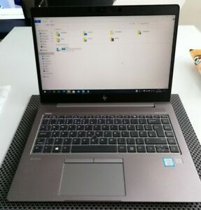 "HP ZBook 14u G5 14"" 256GB SSD, Intel Core i7 8th Gen 16GB warranty high graphics"