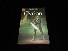 Tanith Lee : Cyrion J'ai Lu 1984