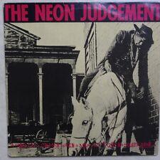 VINYLE MAXI 45 TOURS THE NEON JUDGEMENT A MAN BIAS 65 BELGIQUE 1987 EP 12
