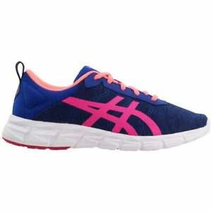ASICS Gel-Quantum Lyte    Kids Girls Running Sneakers Shoes    - Blue