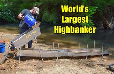 Large Gold Highbanker - GoldHog