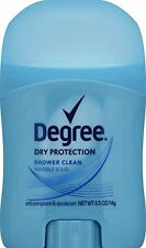 6 Pack Degree Dry Protection Antiperspirant Deodorant Shower Clean 0.5oz Each
