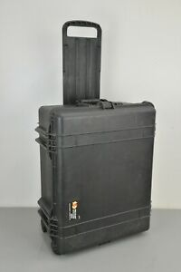 Pelican 1610 Transport Case w/Wheels Retractable Extension 24.83x19.69x11.88