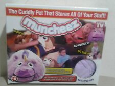 New Muncheez Stuffed Animal Toy Organizer for Children, Unicorn