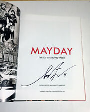 1st ed HAND SIGNED DATED Shepard Fairey urban art hardcover book MAYDAY OBEY