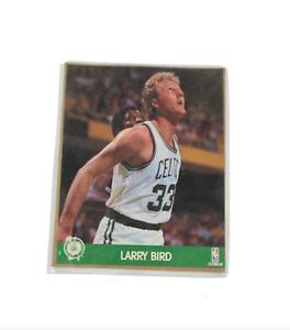 "NOS Vintage 80s NBA Hoops Action Photos Boston Celtics Larry Bird 8x10"" Photo"