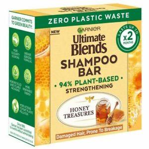 Garnier Ultimate Blends Shampoo Vegan Bars 60g Honey