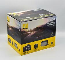 Nikon d3500 reflex, 24.2 milioni di pixel, 18-55 mm Obiettivo Nuovo OVP